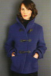 Woman's Dandie Short Duffel Coat by John Partridge at Cox the Saddler