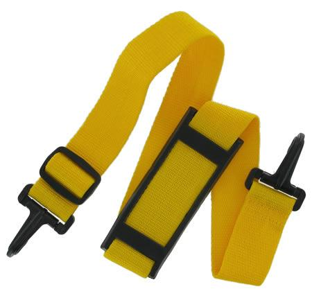 Yellow Webbing Shoulder Strap with plastic snap hooks SWSS14